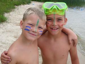 Water fun at Rose Lake Youth Camp
